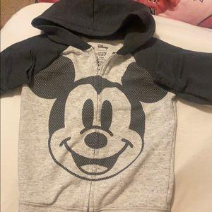 Mickey zip hoodie